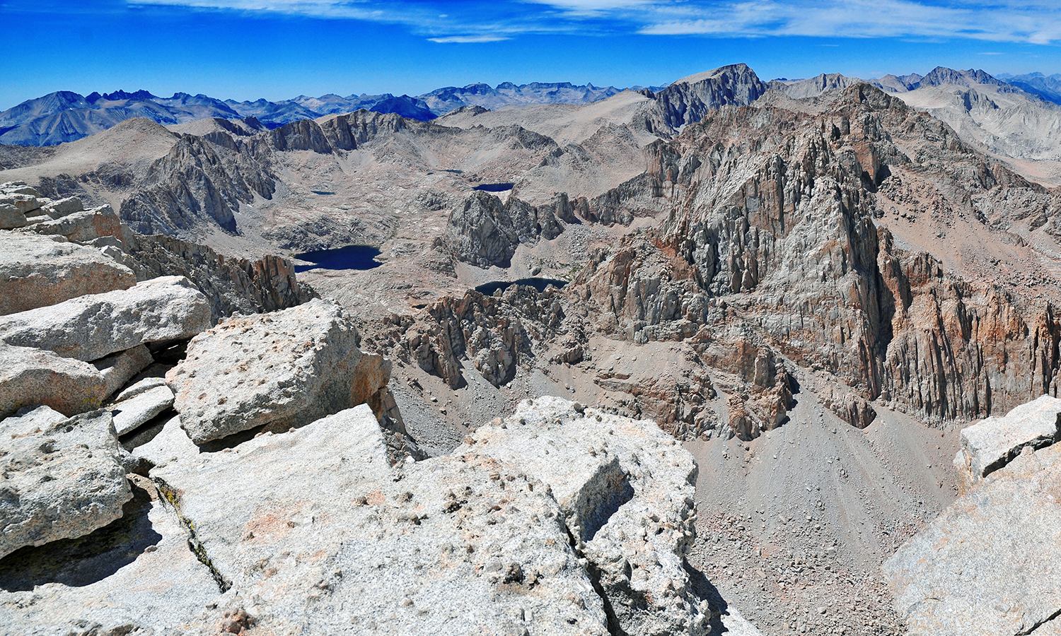 Image from the top of Mount Whitney