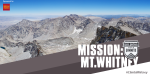 This is Mt. Whitney. At 14,505 ft., it's the tallest mountain in the contiguous US. 15 veterans will journey to it's peak in September. Follow the mission at: http://s2s2014.org/