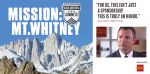 """For us, this isn't just a sponsorship. This is truly an honor."" – Jerry Quinn, Wells Fargo. Learn more about Mission: Mt. Whitney: http://bit.ly/1gHawm7"