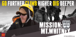 Go Further. Dig Deeper. Support our U.S. veterans. Learn more about Mission: Mt. Whitney. http://www.s2s2014.org/